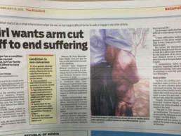 An article in the Standard newspaper Tilman Stasch